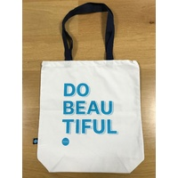 Canvas tote bag - Do Beautiful