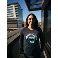 Womens Circular Long Sleeve Tee