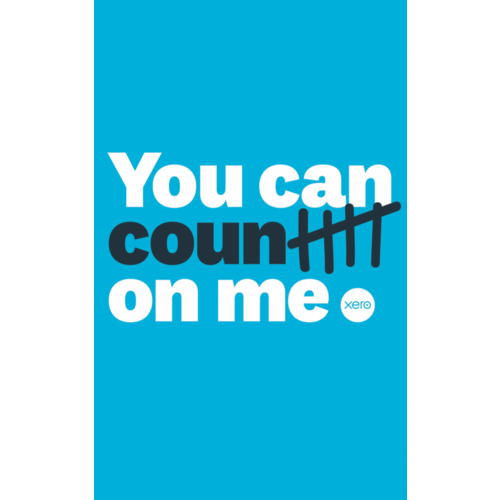 Notebook - you can count on me (shipped in packs of 10)